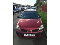 52 plate Renault Clio for sale