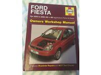 Ford Fiesta Haynes Manual 2002-2008