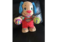 FISHER PRICE LAUGH 'N' LEARN DANCE AND PLAY PUPPY