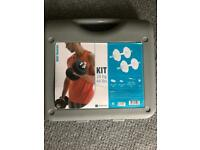 domyos dumbbell suitcase kit (20kg)