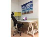 Co-working and private offices available now!