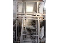 6 sections of steel scaffold tower £30