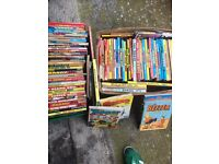 Job Lot 78+ x vintage annnuals from 70's,70's 80'ms etc