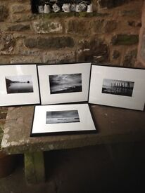 4 Black and White Seascape Photograph Pictures