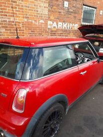 Mini one will have full mot and new clutch