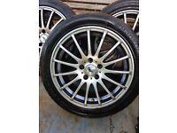 Alloy wheels 5 stud
