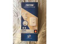 Triton White/Chrome 8.5kW Cara Electric Shower