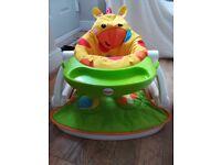 Baby Bumbo seat and Giraffe seat