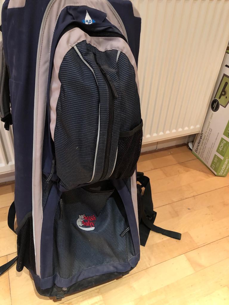 5062861f95a Bush baby Premier backpack carrier