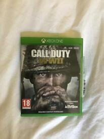 Call Of Duty World War 2 Xbox One Game