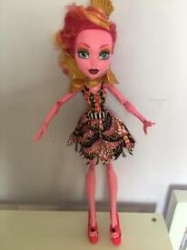 Large monster high doll