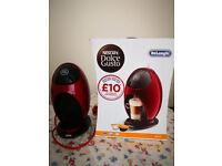 NESCAFE Dolce Gusto Jovia Manual Coffee Machine Red 0.8L 1500W