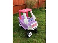 Little tikes cozy princess truck