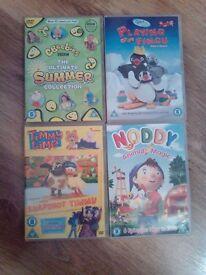 Childrens dvds x 17
