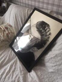 Mirror vintage/retro 70' James Dean