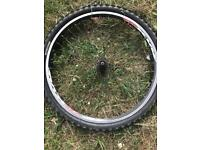 26 inch rear mountain bike wheel