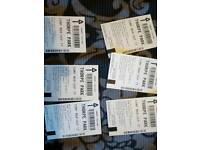 Thorpe park tickets x6