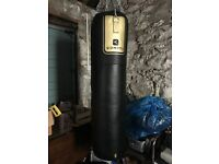 As new punchbag