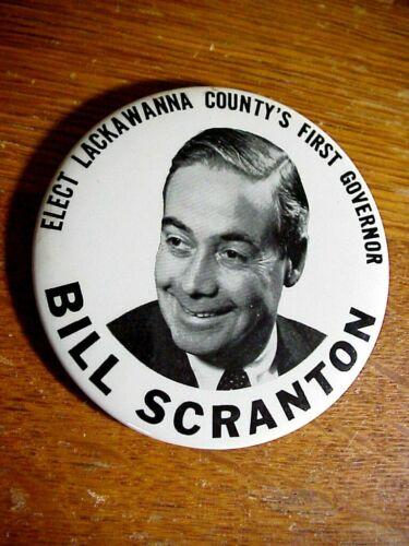 BILL SCRANTON  Elect Lackawanna County