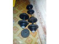 Dumbell for sale (50 killos)