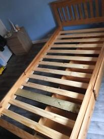 Single bed. 3 drawers