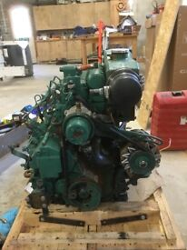 Yacht engine Volvo Penta MD20-40 complete with sail drive 130