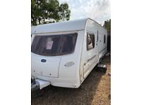 Lunar ultima ew 2006 4 berth fixed bed with motor mover