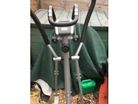 Marcy 2and 1bike and cross trainer