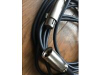 Mic Cables - 2x High Quilty like new