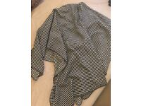 New Look Dogdooth Poncho One Size