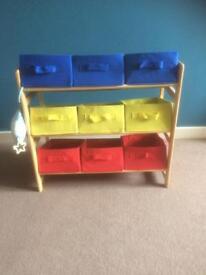Child storage box
