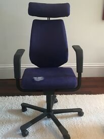 Office chair multiple adjustable settings