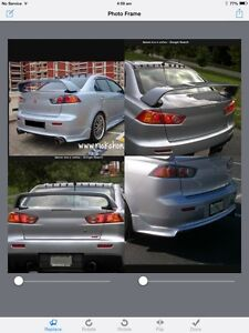 Wanted, CJ Lancer Bodykit, EVO X wing & parts Beechboro Swan Area Preview