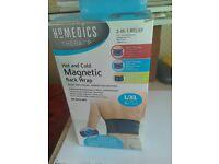 Homedics magnetic back wrap