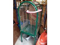 Parrot cage on wheels (Large)