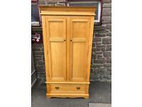 Solid oak wardrobe * free furniture delivery *
