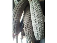 3 Power Wheelchair Tyres 3.00 - 8