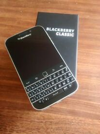 BlackBerry Classic 4G Smartphone Unlocked - Black