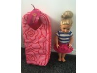 Our generation doll and carry case