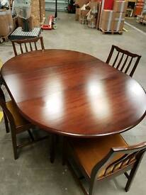 Dining table, 4 x chairs