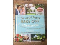 Great British Bake Off: Celebrations hardback recipe book, brand new