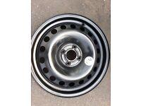1x BRAND NEW RENAULT MEGAN / SCENIC STEEL Wheels 16'' 6.5Jx16 H2F ET49