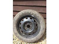 Ford steel wheel