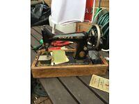 Singer sewing machine no 99