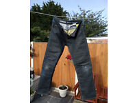 Mens Hornee Kevlar Motorcycle Jeans Made With Aramid Fiber
