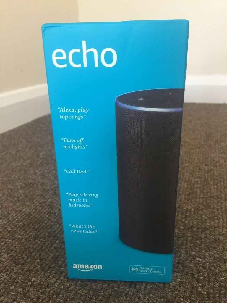 Amazon Echo (2nd Gen) - Smart speaker with Alexa - Charcoal Fabric (Boxed  and brand new) | in Colliers Wood, London | Gumtree