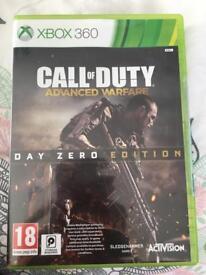 Call of Duty advances warfare day zero edition XBOX 360
