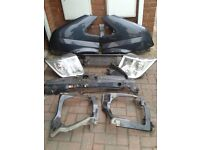 Ford Transit Mk 7 Front End Various Parts. In Ford ' Sea Grey ' .