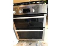 Hotpoint Built in Under Double Electric Oven Hardly Used