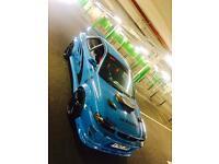 2 door classic Subaru Impreza wrx Sti in hyper blue!